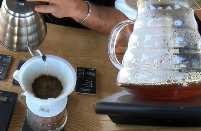 Bu kahvenin kilosu 2 bin lira: Ziyaretçilerin beğenisine sunuldu