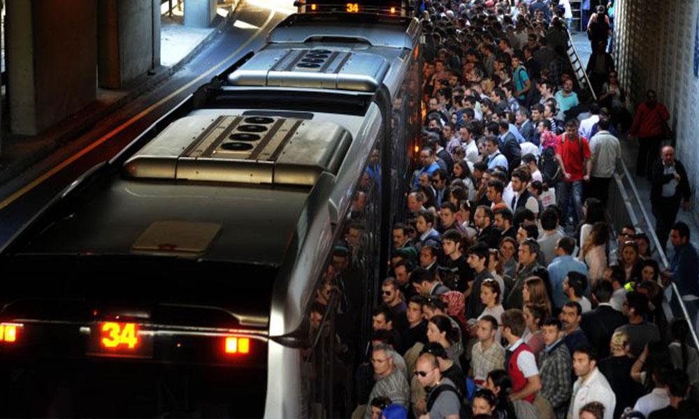 Metrobüste seçimi CHP kazandı diye klima açılmıyor iddiası…