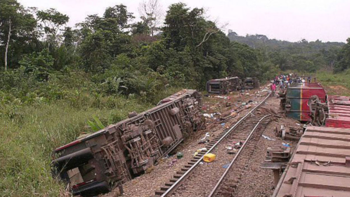 Kongo'da tren kazası: En az 50 kişi hayatını kaybetti