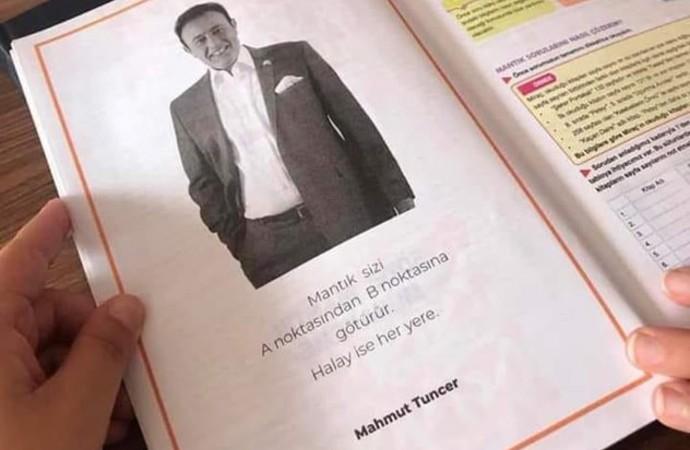 Ders kitabında Mahmut Tuncer sözleri: Halay sizi her yere götürür…