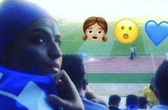 Maça gittiği için tutuklanan 'mavi kız' bedenini ateşe verdi