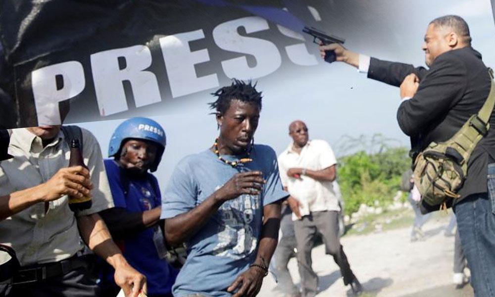 Milletvekili dehşet saçtı… Gazetecinin yüzüne silah sıktı!