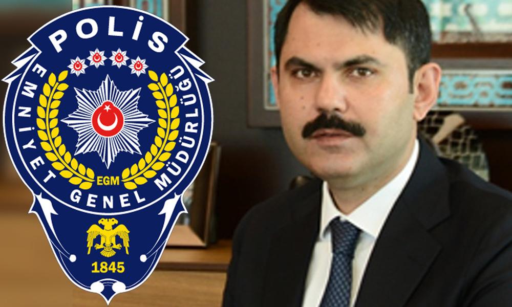 Emniyet'e damat ataması… Bakan Kurum'un eniştesi daire başkanı oldu