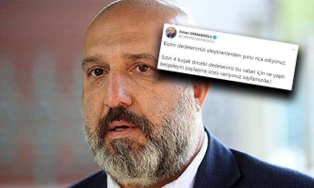Abdülhamit'in torunu Osmanoğlu: Sizin 4 kuşak önceki dedeleriniz bu vatan için ne yaptı?