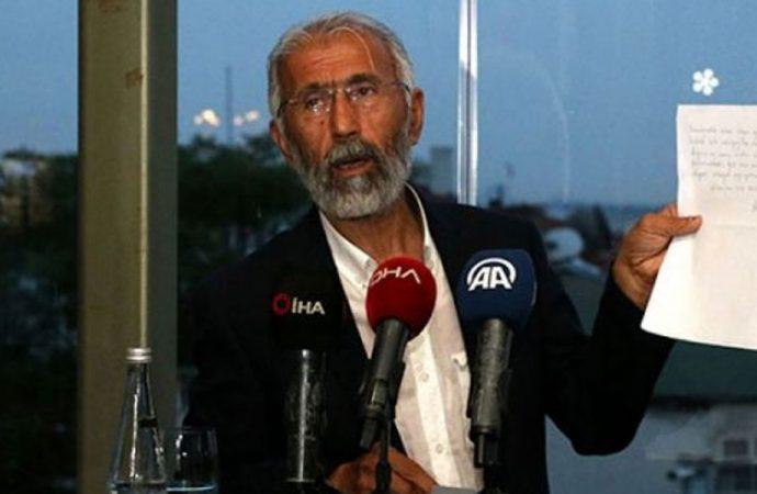 Seçim öncesi Öcalan'ın mektubunu okuyan Özcan: Bu mektubu devletsiz nasıl açıklardım?