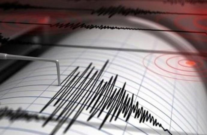 Ege'de 4.3 büyüklüğünde deprem