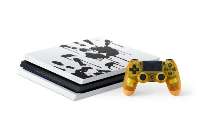 PS4 Pro için özel Death Stranding Limited Edition