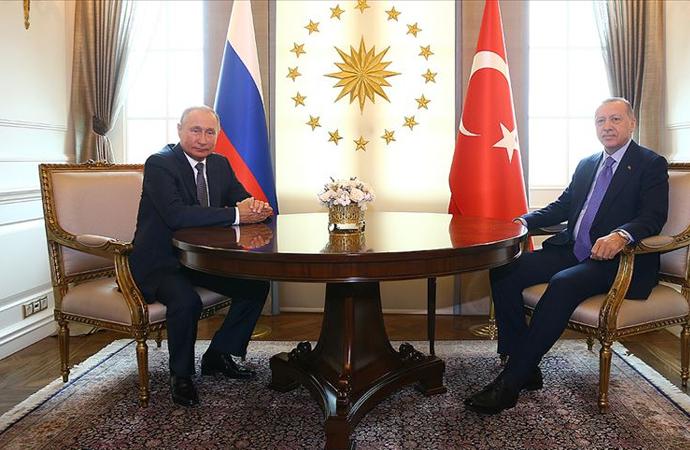 Erdoğan 15 yıl önce tanıştığı Putin'le İngilizce konuştu 'Tanıştığımıza memnun oldum'