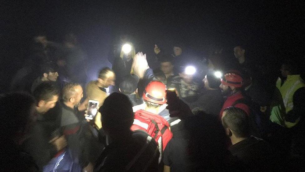Rize'de kaybolan 6 kişiye 40 saat sonunda ulaşıldı