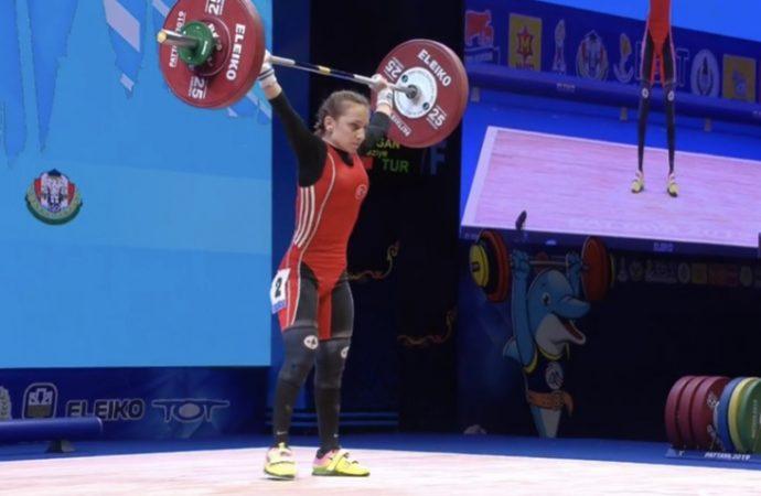 Şaziye Erdoğan, dünya şampiyonu oldu!