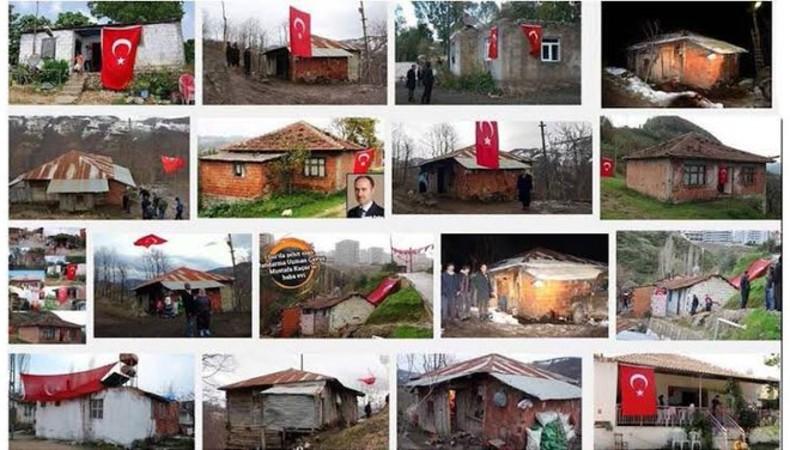 Erdoğan'ın 'güvenli bölge' projelerine şehitlerin evleriyle yanıt verdi