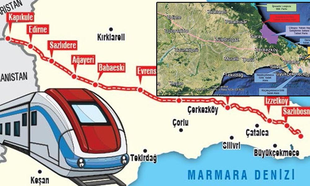 Avrupa'yı Asya'ya bağlayacak tren yolu projesi için ilk adım atılıyor