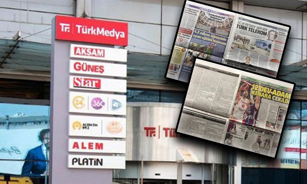 Türkmedya'da inanılmaz hata! Star gazetesinin içine Akşam gazetesini bastılar