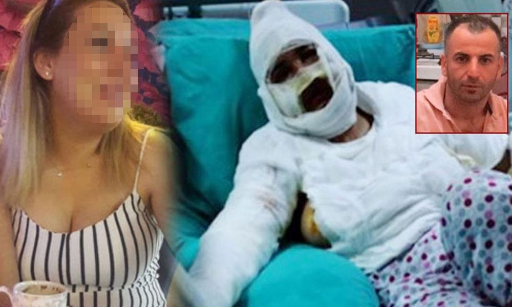 Cezaevinden izinle çıktı! İmam nikahlı eşini bıçaklayıp yağ ile yaktı
