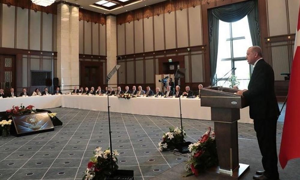 Saray'daki başkanlar buluşmasında 'WhatsApp grubu kuralım' önerisi