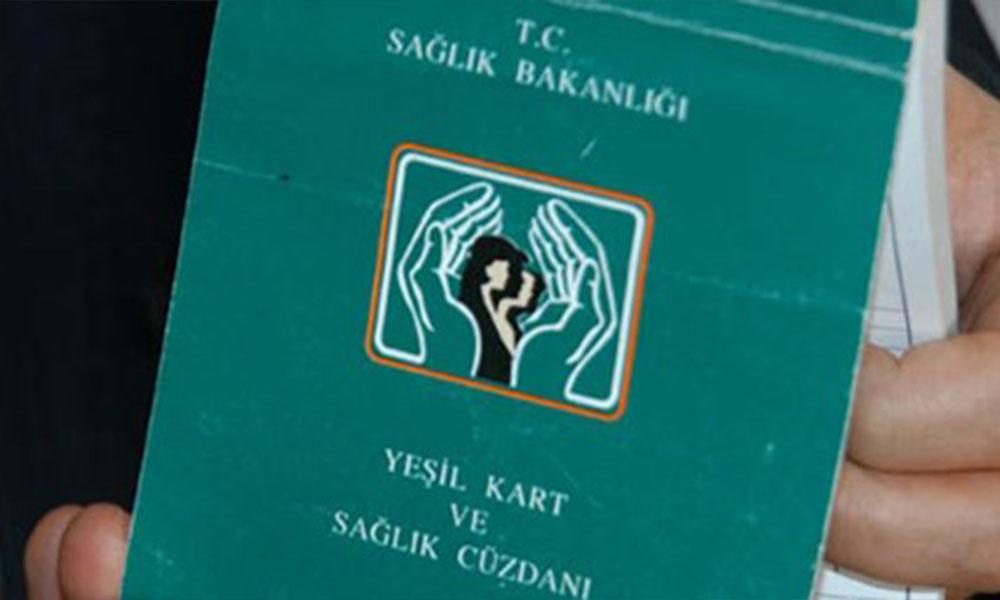Türkiye'nin vahim tablosu! 8,6 milyon vatandaş Yeşil Kart'a muhtaç…
