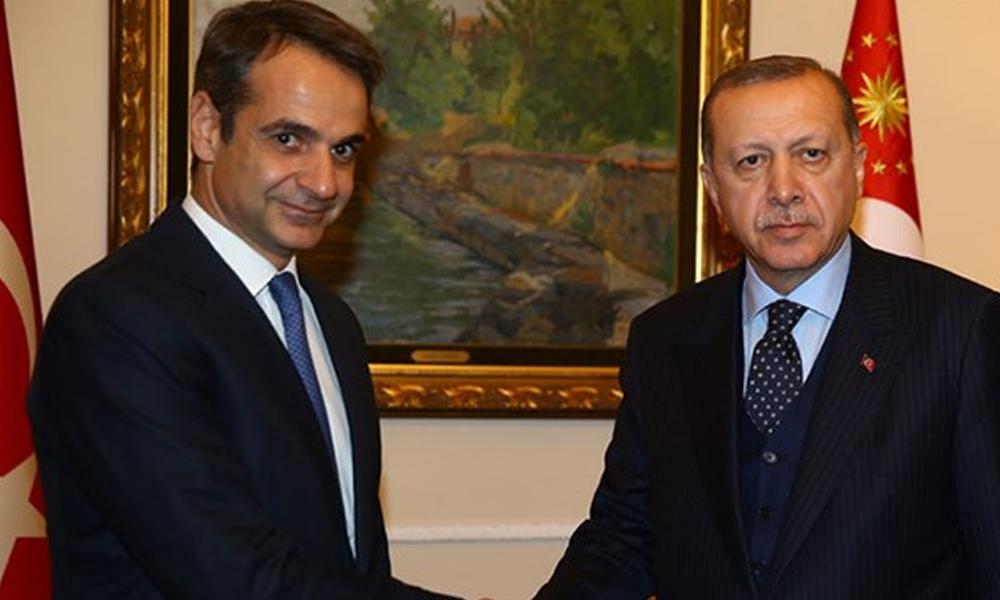Yunanistan Başbakanı Miçotakis'ten Erdoğan'a: Kabul edilmesi düşük bir ihtimal