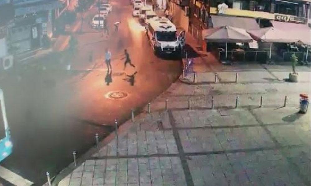 Zeytinburnu'nda dehşet saçan şüpheliler kamerada