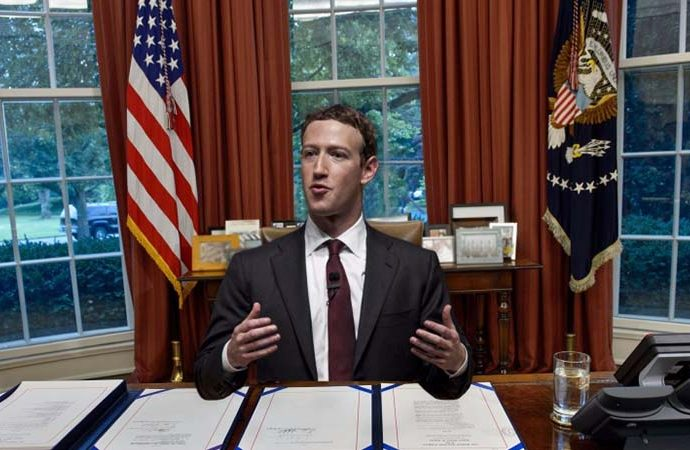 Zuckerberg Trump ile sürpriz bir görüşme yaptı! Ne konuştular?