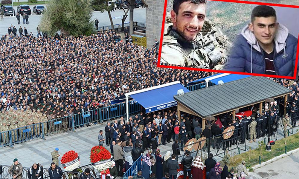 Şehit cenazesinde protokol skandalı!