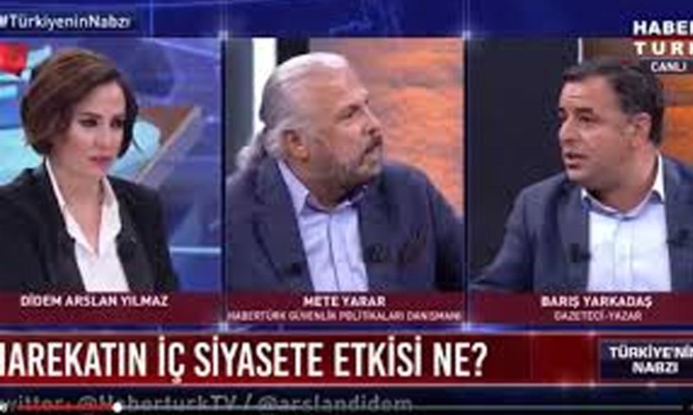 Canlı yayında reklama götüren tartışma! Mete Yarar'ın 'Örtülü AKP propagandası' ortalığı bir anda karıştırdı…
