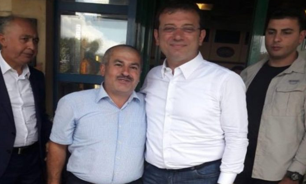 AKP'li Belediye İmamoğlu ile fotoğraf çektiren işçisini mesajla kovdu!