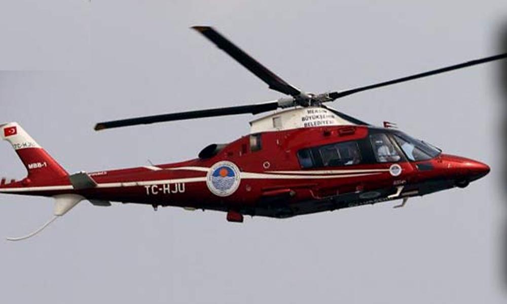 Tasarruffa gidiyorlar! Belediye'den kelepir fiyatına satılık helikopter