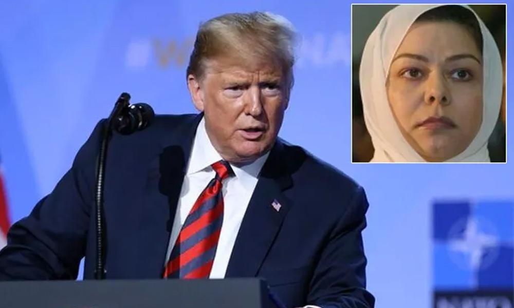 Saddam Hüseyin'in kızından kızından Trump'a cevap