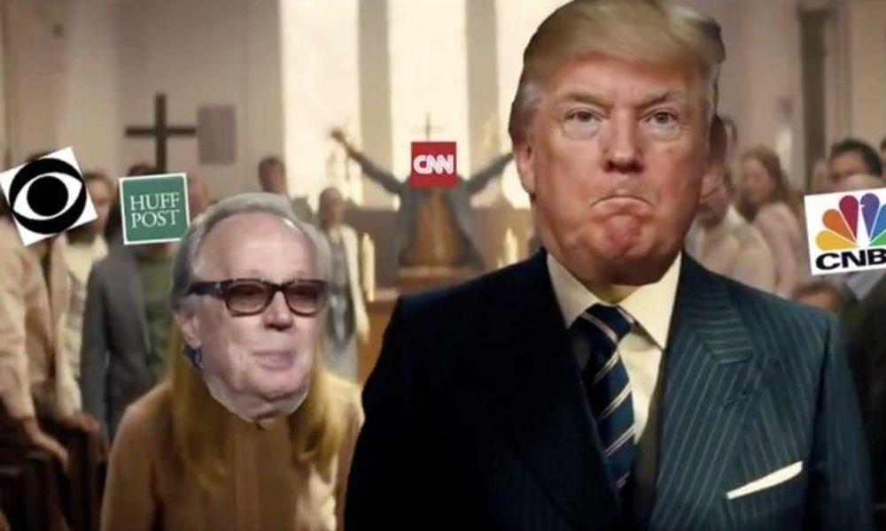 """Trump'ın muhaliflerini """"katlettiği"""" montaj video tepki çekti"""