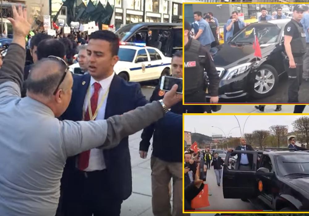 AKP'li vekiller Erdoğan'ın korumalarından şikayetçi: Bizi itip kakıyorlar…