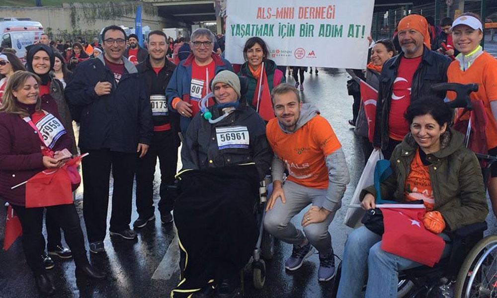 ALS hastaları için İstanbul Maratonu'na çağrı