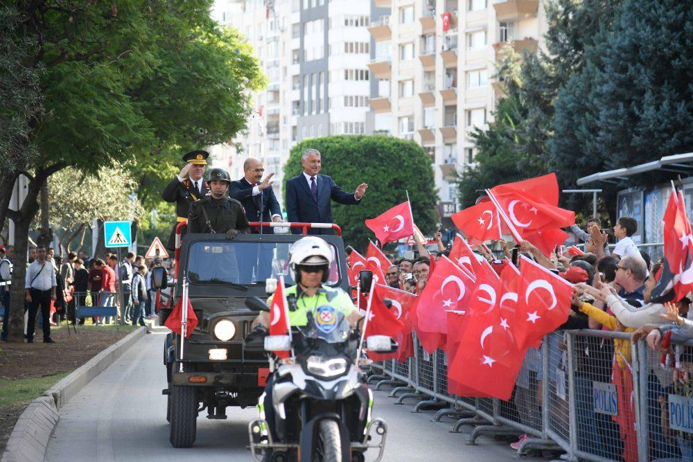 Adana'da Cumhuriyet Bayramı kutlamaları böyle başladı