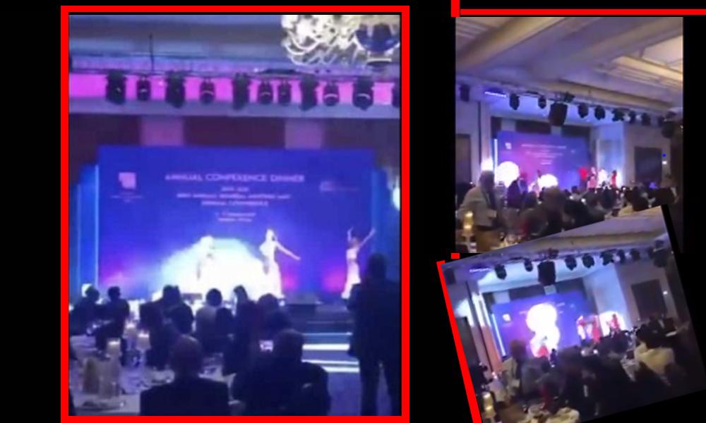Milletin parasıyla, 'Barış Pınarı Harekatı Gecesi'nde eğlence düzenlediler, 'dansöz' oynattılar!