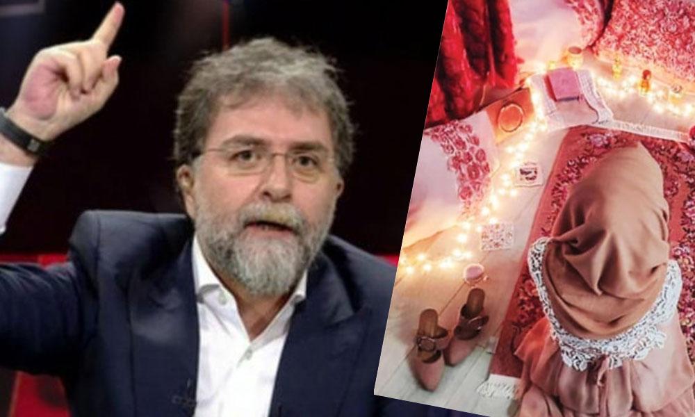 Bu fotoğrafı köşesine taşıdı… Ahmet Hakan'dan sert eleştiri: Bu da galiba yeni gelin namazı