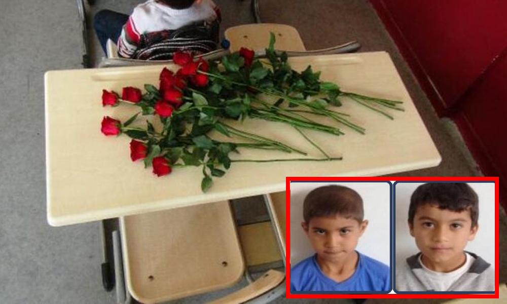 Havuza giren 2 çocuk, boğularak hayatlarını kaybetti! Öğretmenleri masalarına 'gül' bırakarak uğurladı