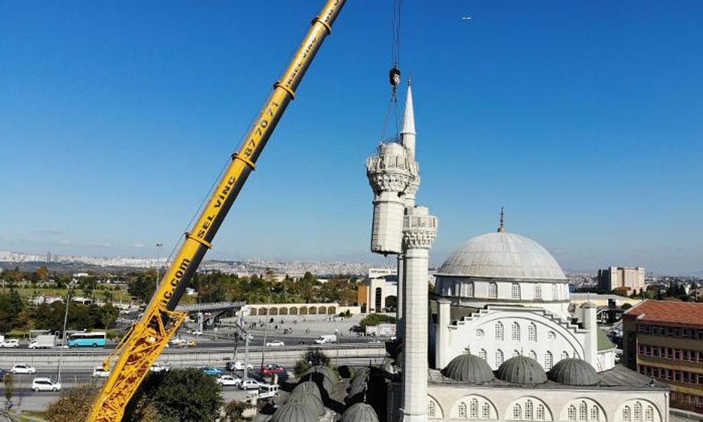 Bir tek orası kalmıştı! Avcılar'da depremde yıkılan minarenin malzemesinden de çalmışlar…