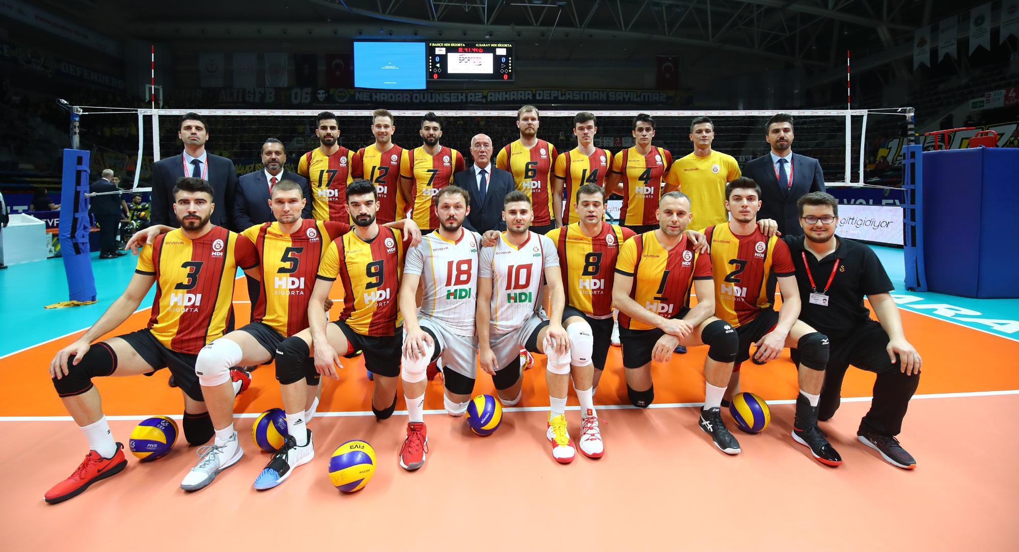 2019 Erkekler Spor Toto Şampiyonlar Kupası, Galatasaray HDI Sigorta'nın oldu
