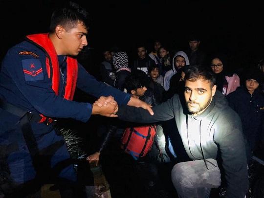 Meriç Nehri'nde 31 kaçak göçmen yakalandı