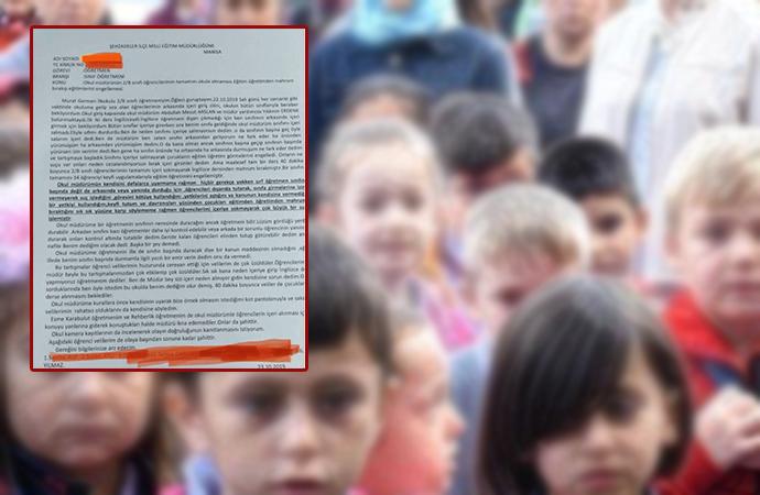 Okulda skandal uygulama! 'Okul müdürü, 2. sınıf öğrencilerini sınıfa sokmuyor'
