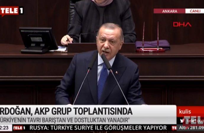 Erdoğan: Ey Batı, ey Arap ligi, ey azıcık da olsa vicdan sahibi olan bütün ülkeler, hepinize sesleniyorum…