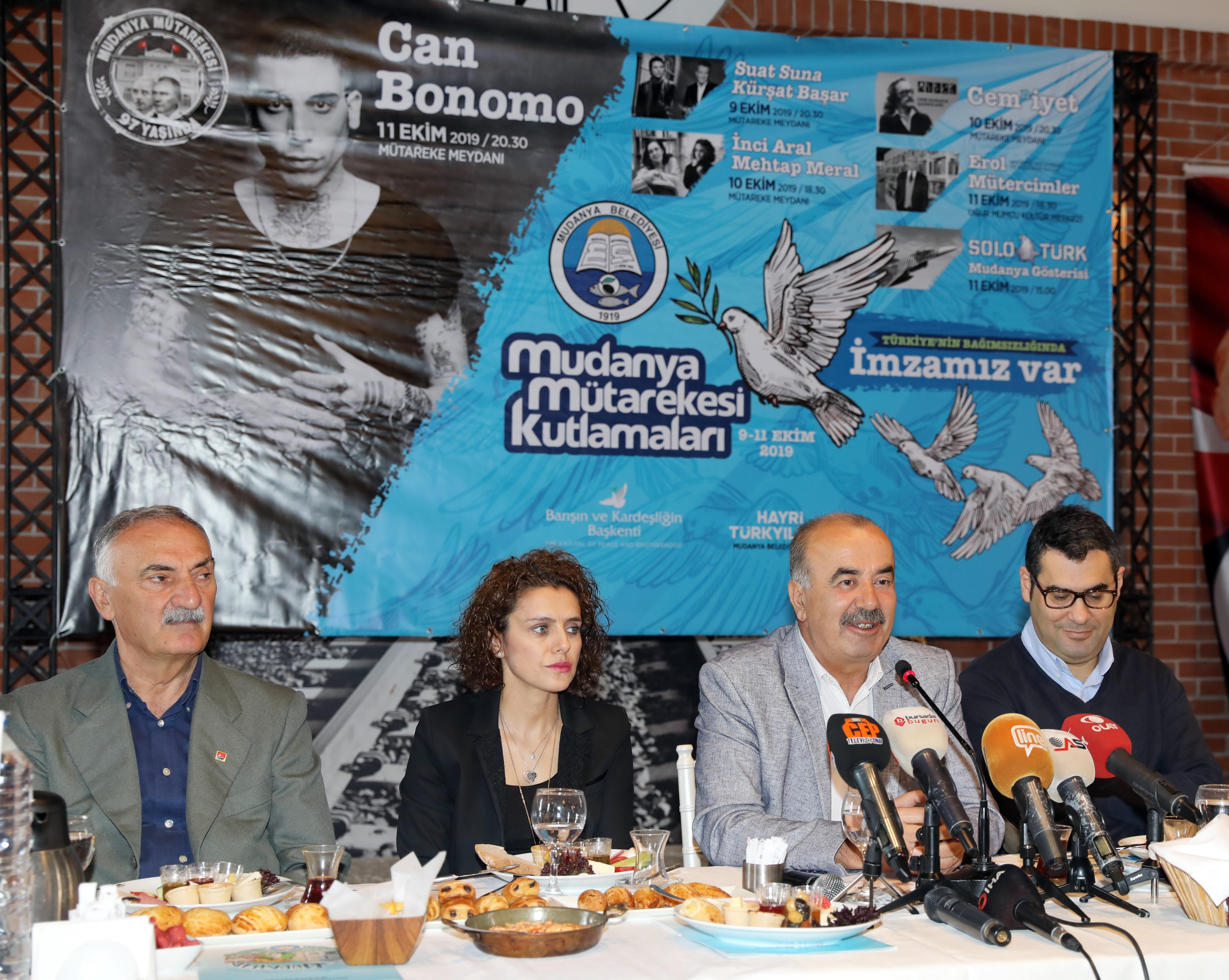 Mudanya Mütarekesi 97. yılı kutlama etkinlikleri başlıyor