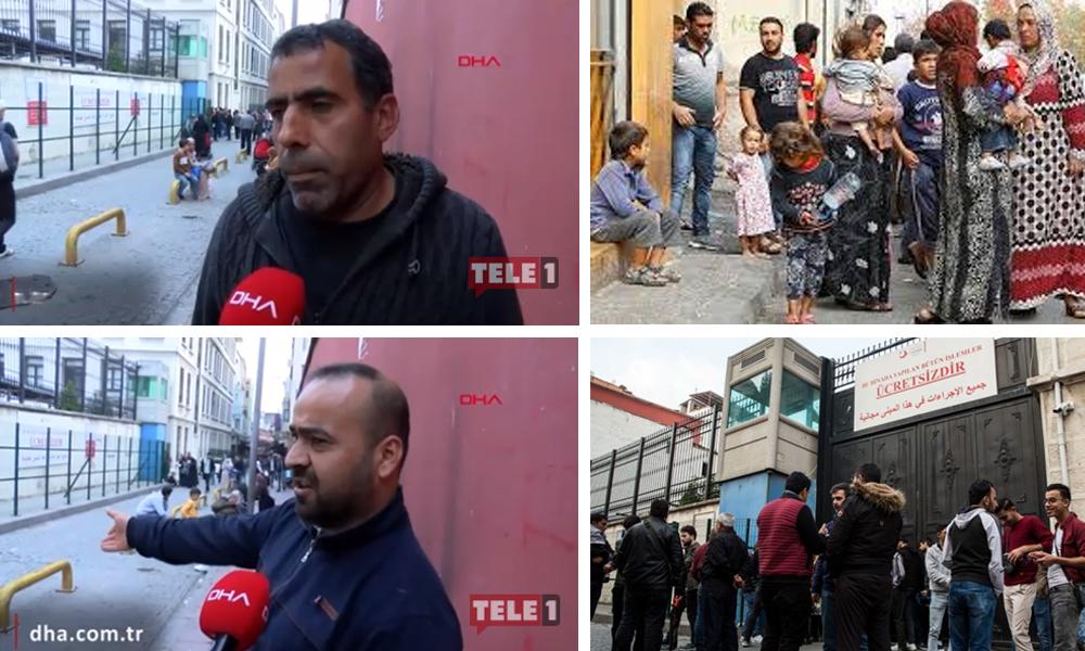İstanbul'daki Suriyelilerin süresi doldu! Akın akın göç idaresine geliyorlar…