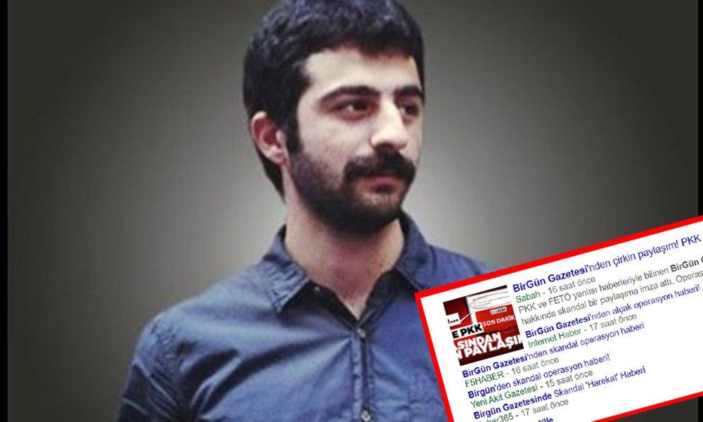 BirGün Gazetesi'nin internet sorumlusu Hakan Demir, serbest bırakıldı