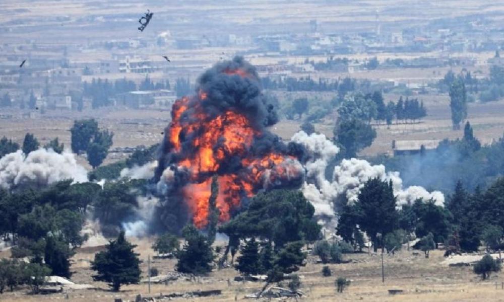ABD, Tel Tamer'deki üssünü bombalayarak imha etti