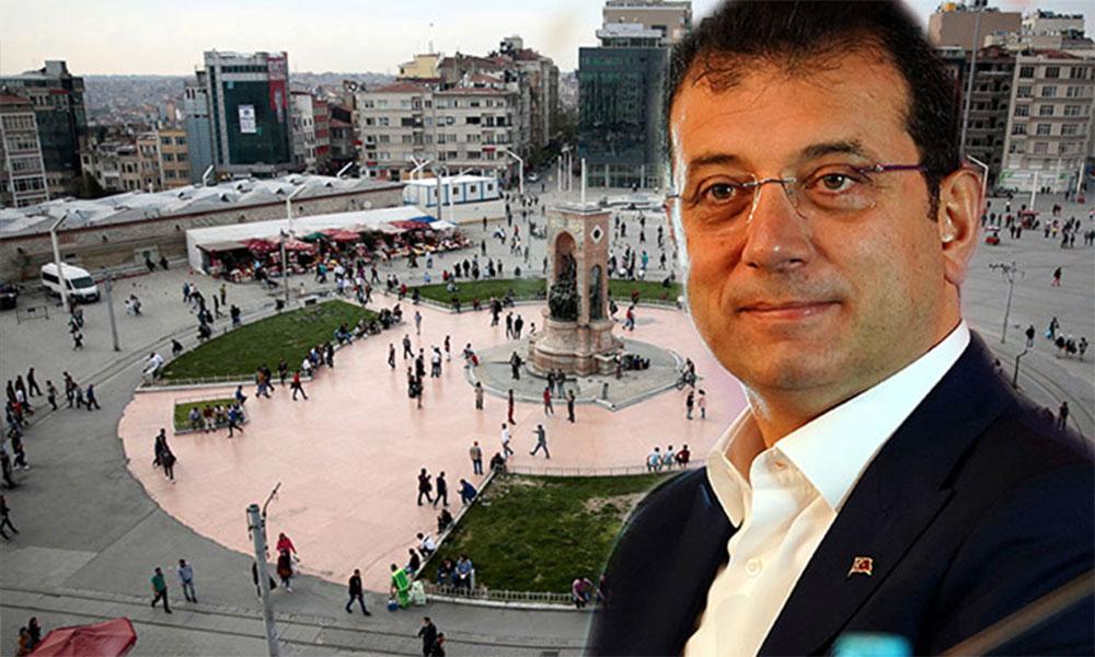 Harekete geçiyor! Ekrem İmamoğlu, Taksim meydanı için tarih verdi