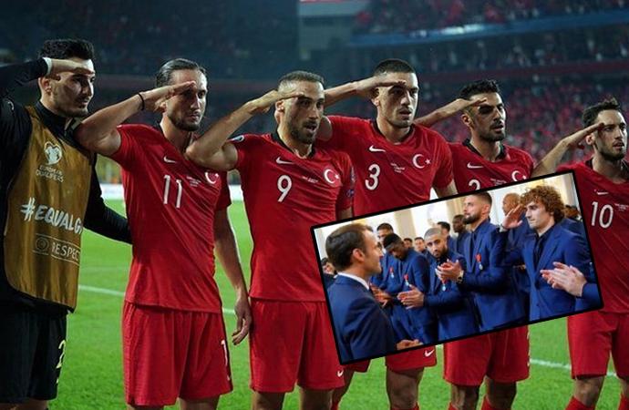 Fransızların 'Türkiye maçı iptal edilsin' kampanyasına 'Griezmann' hatırlatmalı tepki
