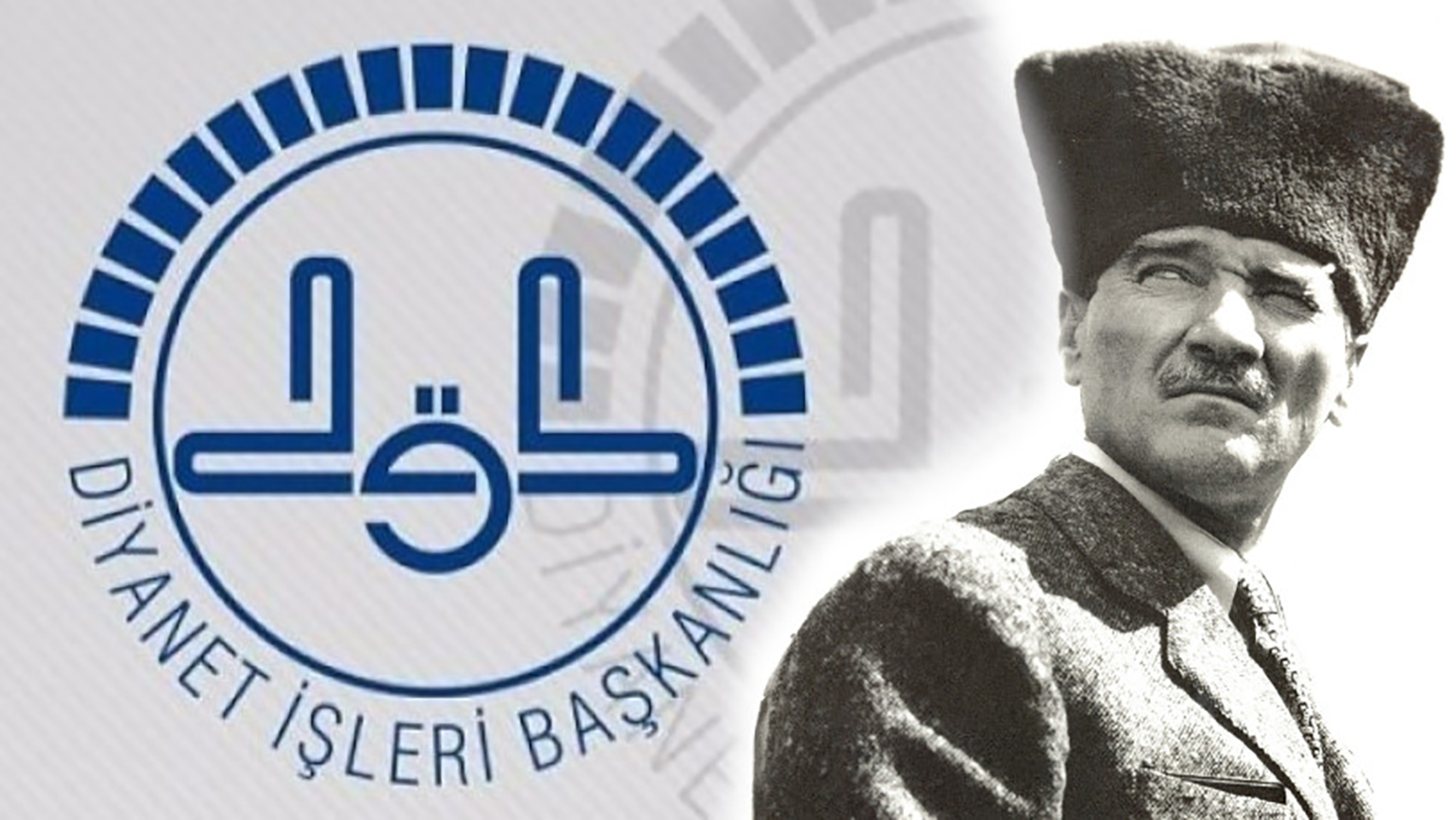 Diyanet yine yok saydı! Ne Atatürk var ne de Cumhuriyet