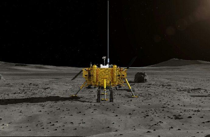 Ay'ın karanlık yüzeyinde ilginç gelişmeler yaşandı