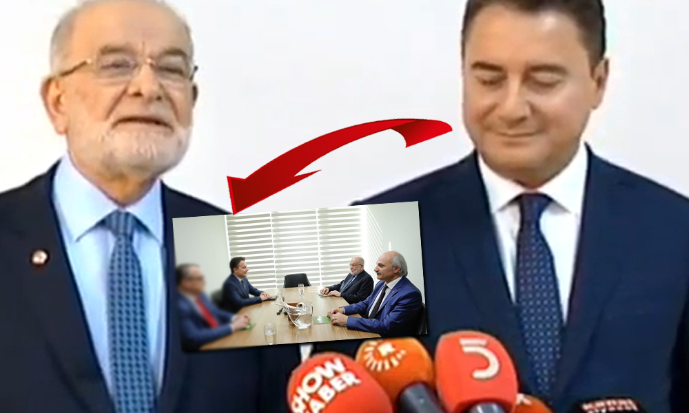Karamollaoğlu-Babacan görüşmesinde dikkat çeken isim!