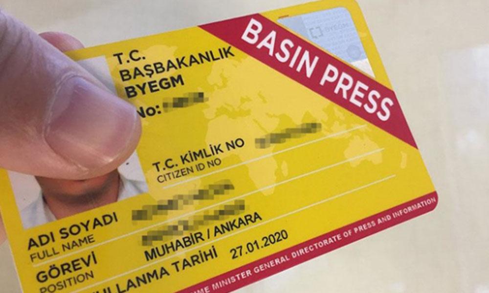 Danıştay'a 'Basın Kartı' davası! 'Cumhurbaşkanı ve avukatları zıt görüşlerde'